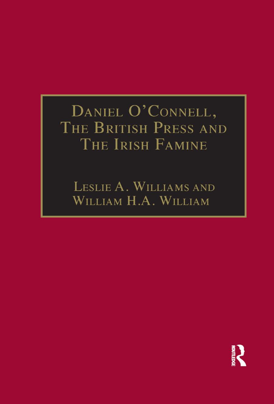 Daniel O'Connell, The British Press and The Irish Famine: Killing Remarks book cover