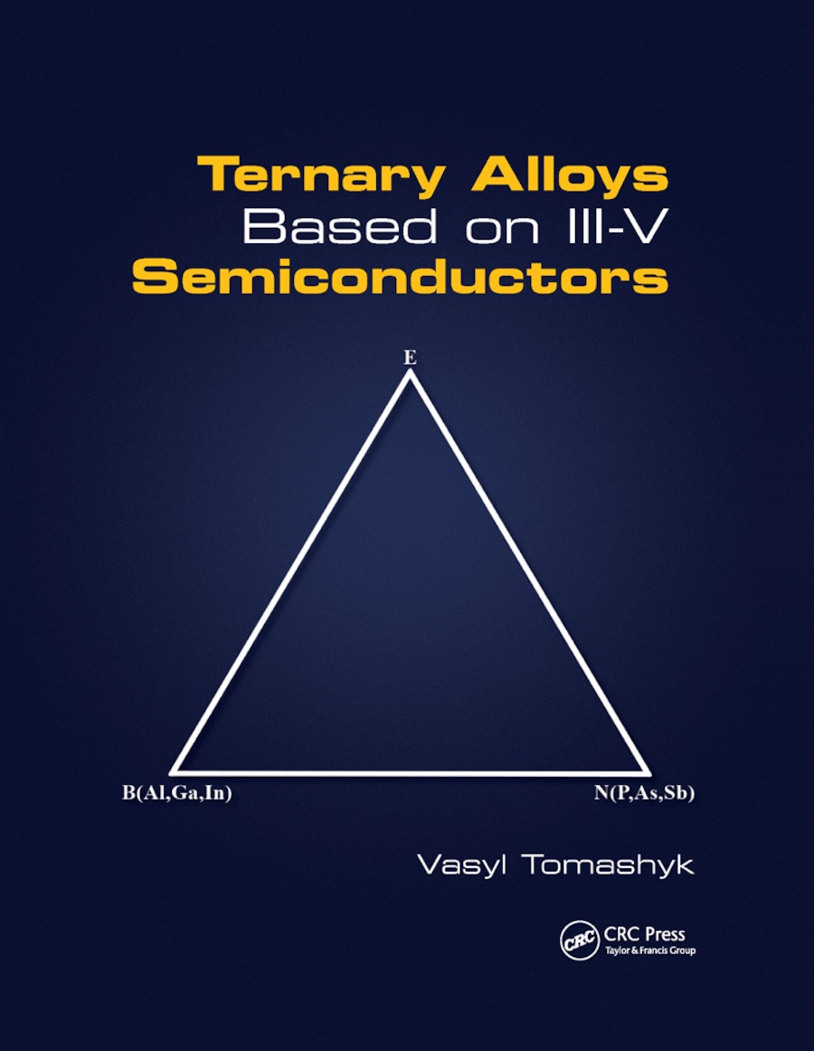 Ternary Alloys Based on III-V Semiconductors: 1st Edition (Paperback) book cover