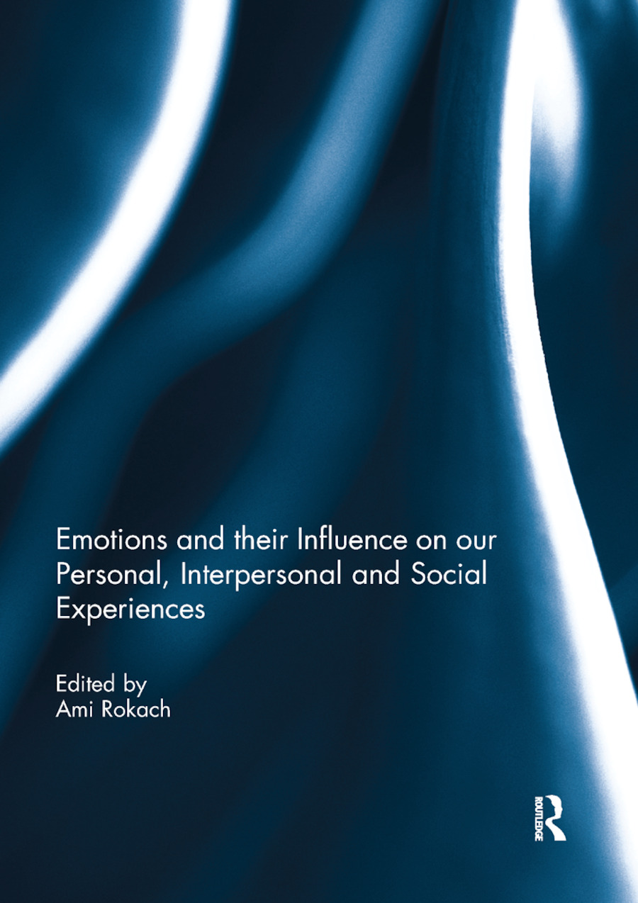 Emotions and their influence on our personal, interpersonal and social experiences book cover