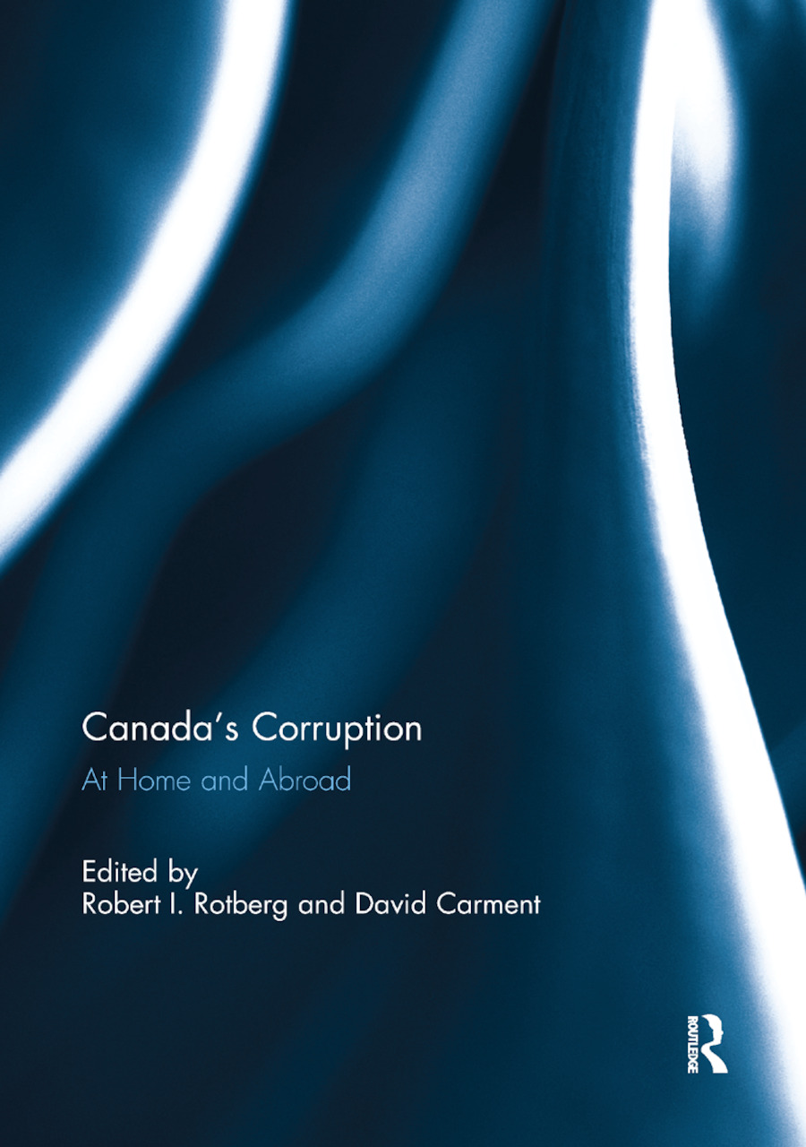 Canada's Corruption at Home and Abroad: 1st Edition (Paperback) book cover