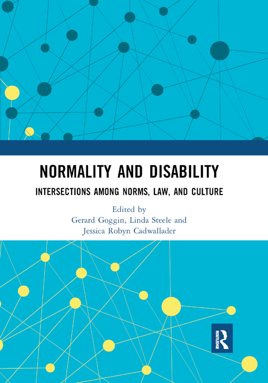 Normality and Disability: Intersections among Norms, Law, and Culture book cover