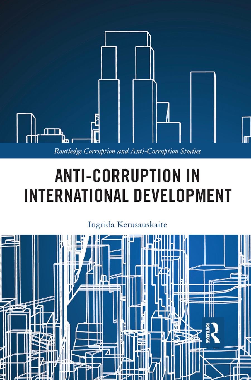 Anti-Corruption in International Development book cover