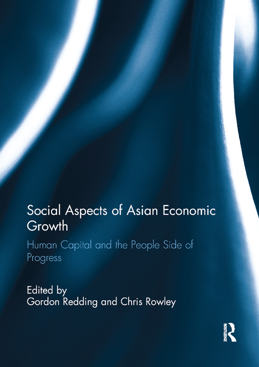 Social Aspects of Asian Economic Growth: Human capital and the people side of progress, 1st Edition (Paperback) book cover
