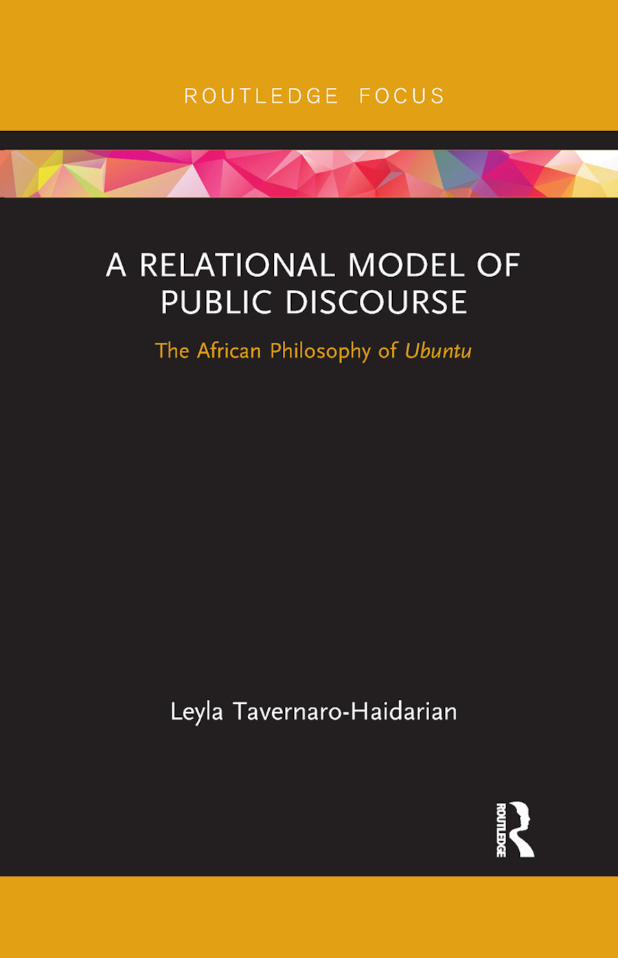 A Relational Model of Public Discourse: The African Philosophy of Ubuntu book cover