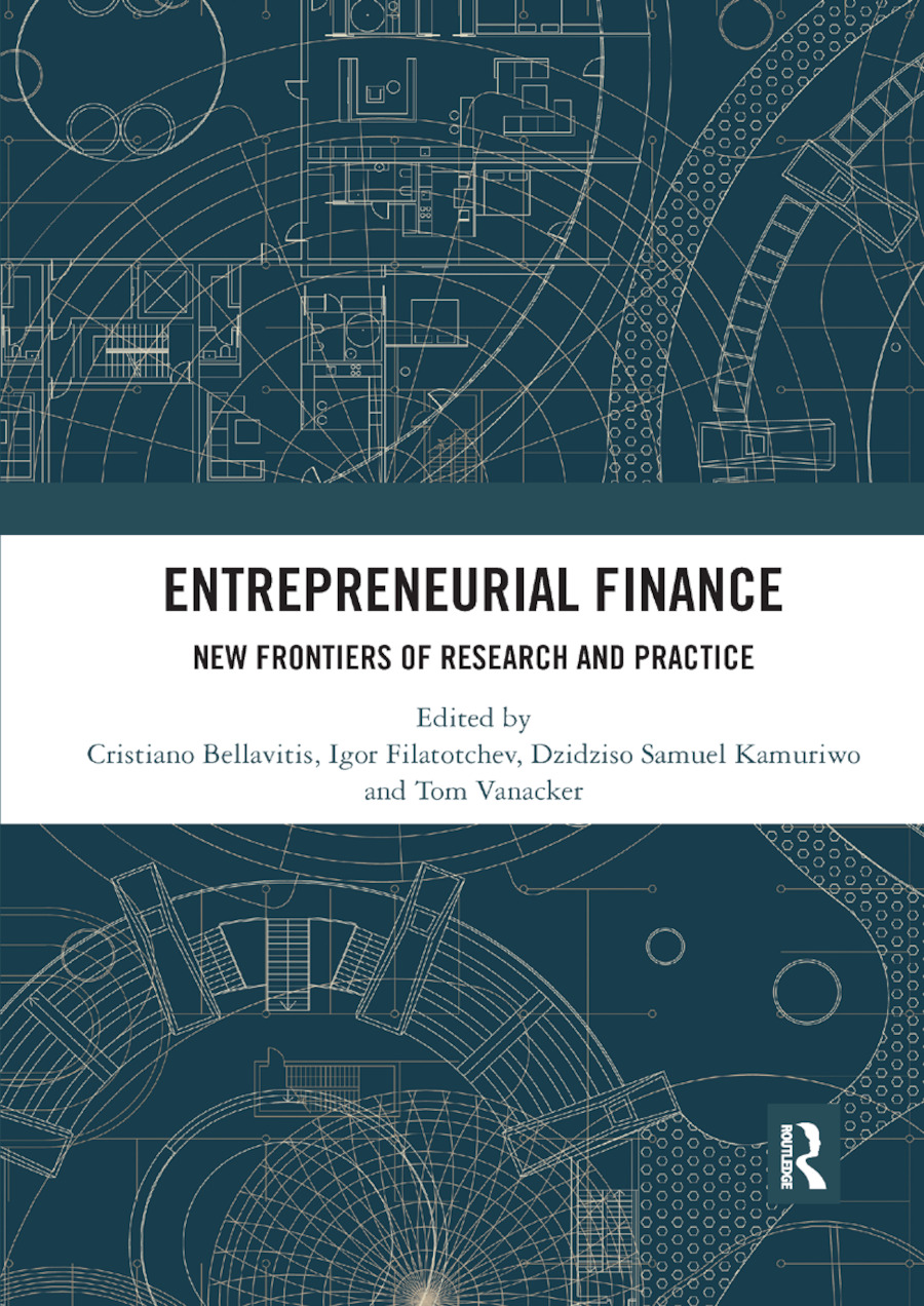 Entrepreneurial Finance: New Frontiers of Research and Practice book cover