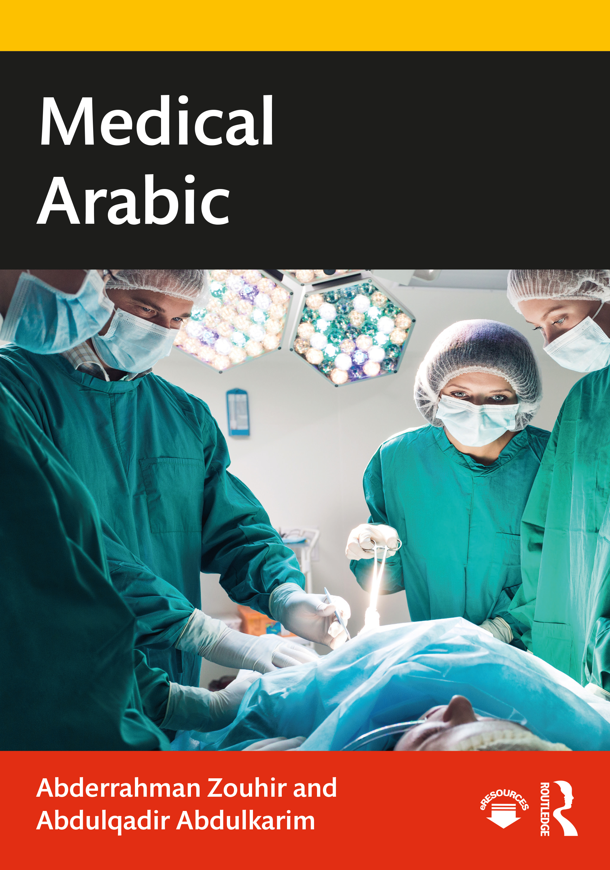 Medical Arabic book cover