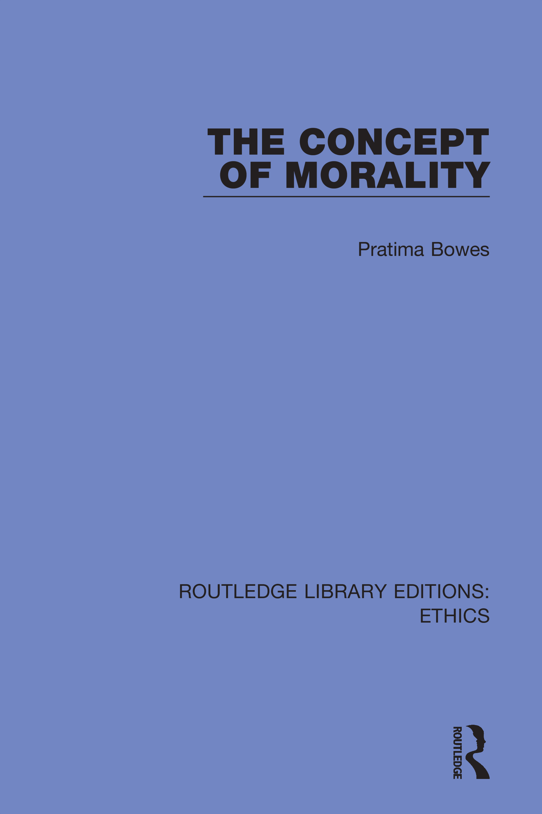 The Concept of Morality