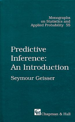 Predictive Inference: 1st Edition (Hardback) book cover