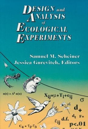 Design and Analysis of Ecological Experiments: 1st Edition (Hardback) book cover