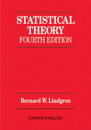 Statistical Theory: 4th Edition (Hardback) book cover