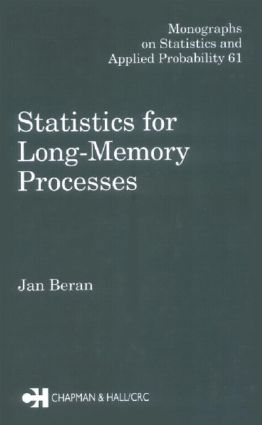 Statistics for Long-Memory Processes: 1st Edition (Hardback) book cover