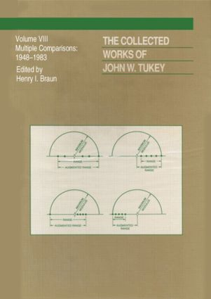The Collected Works of John W. Tukey: Multiple Comparions, Volume VIII, 1st Edition (Hardback) book cover