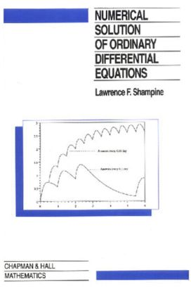 Numerical Solution of Ordinary Differential Equations: 1st Edition (Hardback) book cover