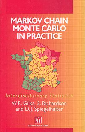 Markov Chain Monte Carlo in Practice (Hardback) book cover