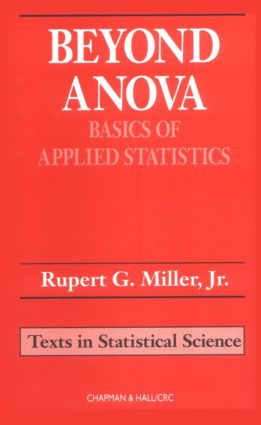 Beyond ANOVA: Basics of Applied Statistics, 1st Edition (Hardback) book cover