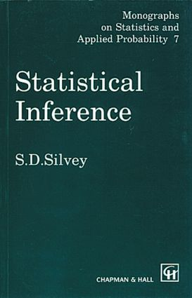 Statistical Inference: 1st Edition (Hardback) book cover