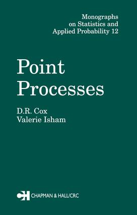 Point Processes: 1st Edition (Hardback) book cover