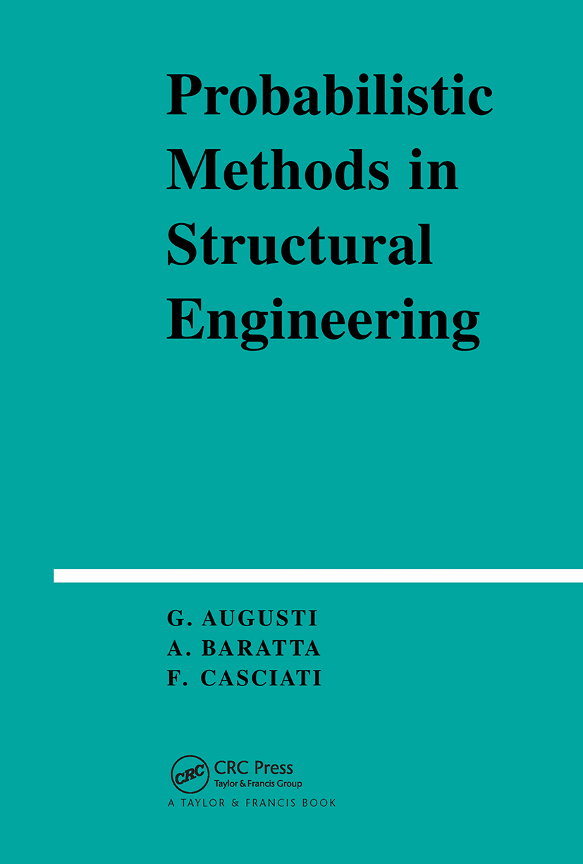 Probabilistic Methods in Structural Engineering: 1st Edition (Hardback) book cover