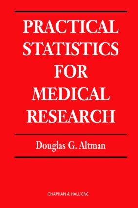 Practical Statistics for Medical Research: 1st Edition (Hardback) book cover