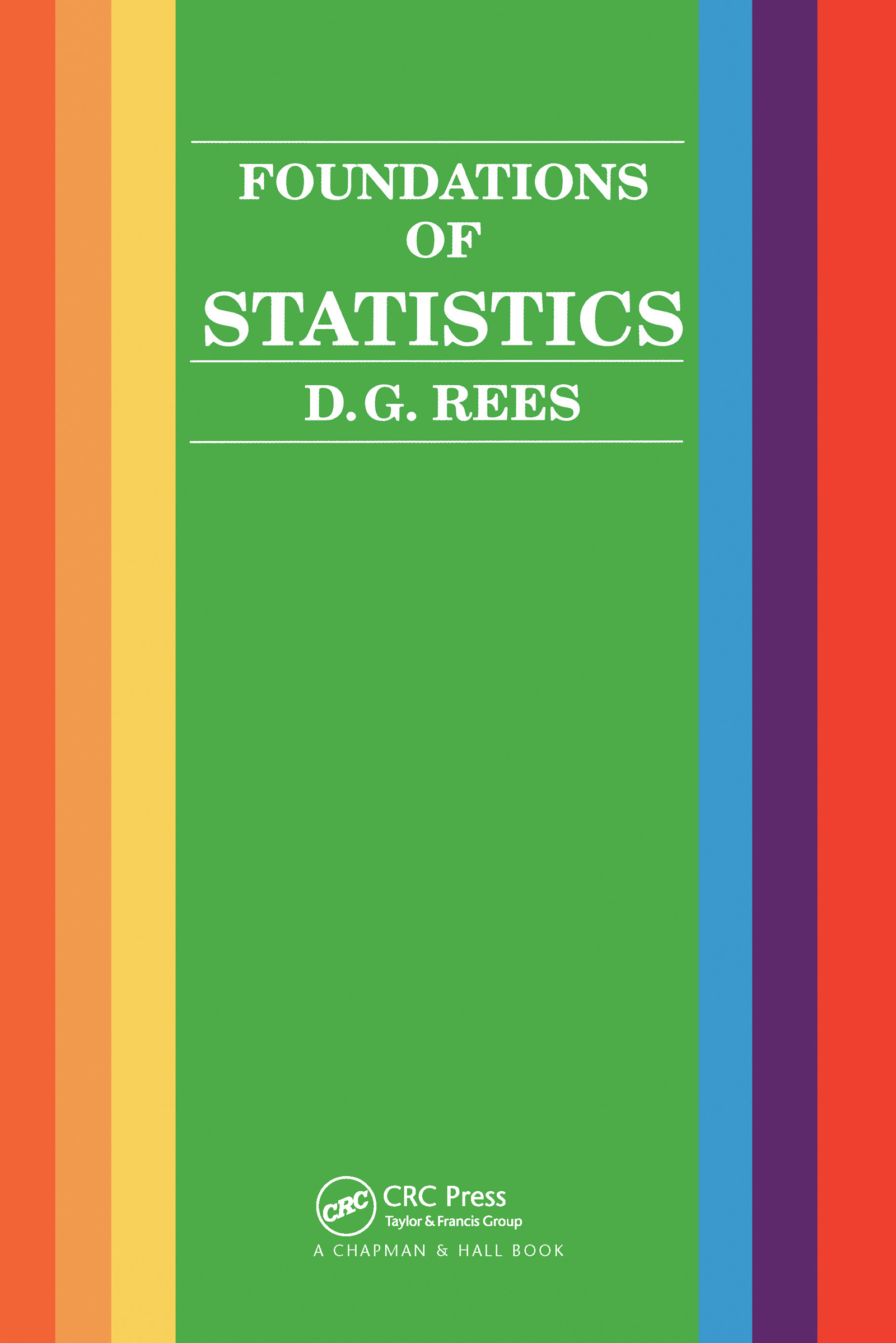Foundations of Statistics: 1st Edition (Paperback) book cover