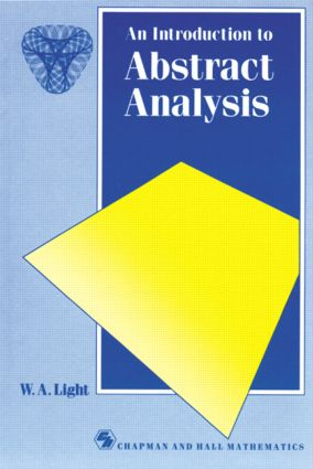 Introduction to Abstract Analysis: 1st Edition (Paperback) book cover
