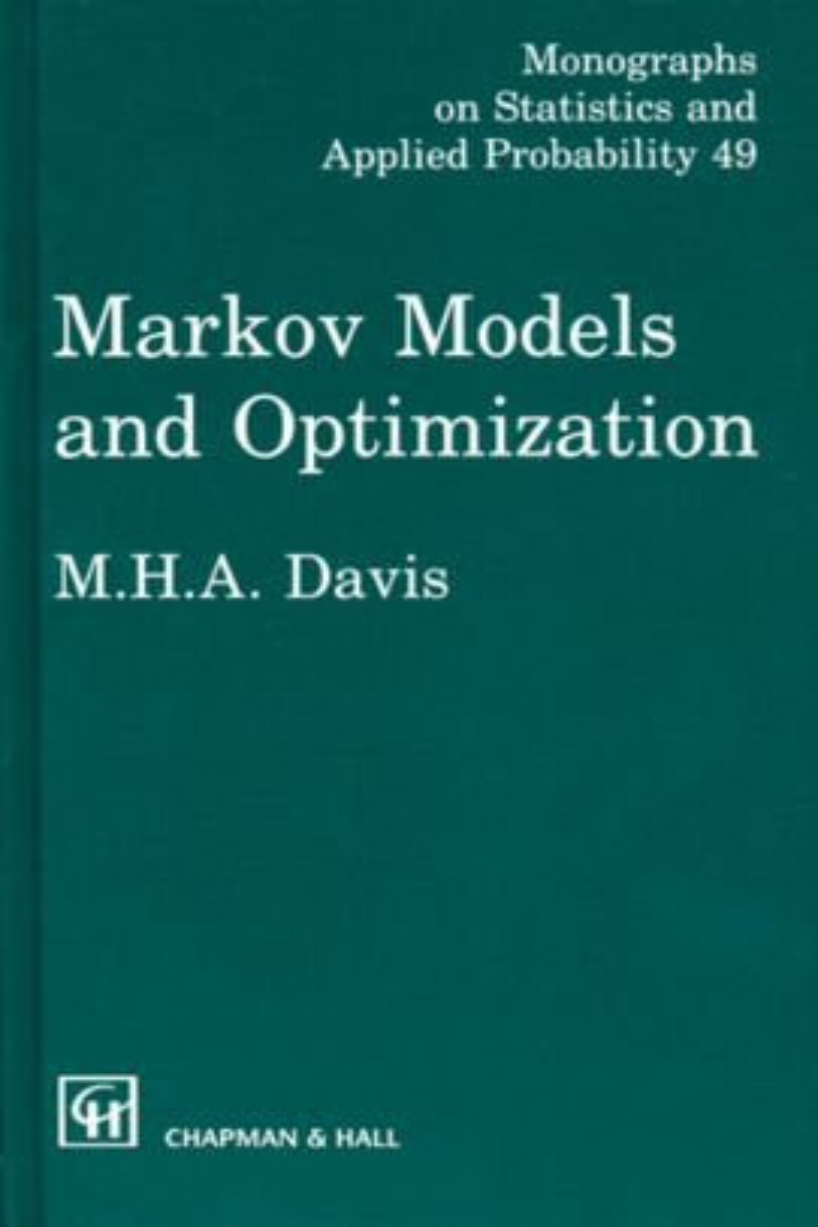Markov Models and Optimization