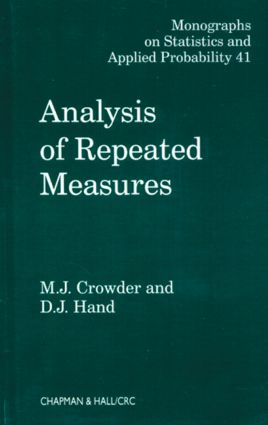 Analysis of Repeated Measures (Hardback) book cover