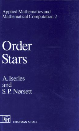 Order Stars: Theory and Applications, 1st Edition (Hardback) book cover