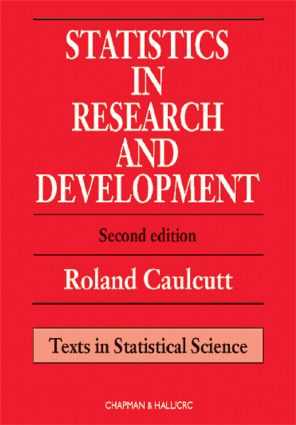 Statistics in Research and Development: 2nd Edition (Hardback) book cover