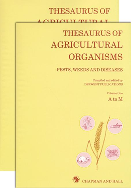 Thesaurus of Agricultural Organisms: 1st Edition (Hardback) book cover
