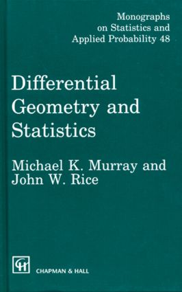 Differential Geometry and Statistics: 1st Edition (e-Book) book cover