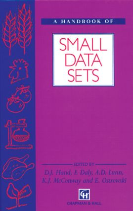 A Handbook of Small Data Sets (Hardback) book cover