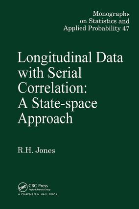 Longitudinal Data with Serial Correlation: A State-Space Approach, 1st Edition (Hardback) book cover