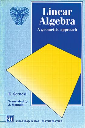 Linear Algebra: A Geometric Approach, 1st Edition (Paperback) book cover