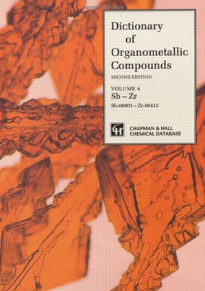 Dictionary of Organometallic Compounds: 1st Edition (Hardback) book cover