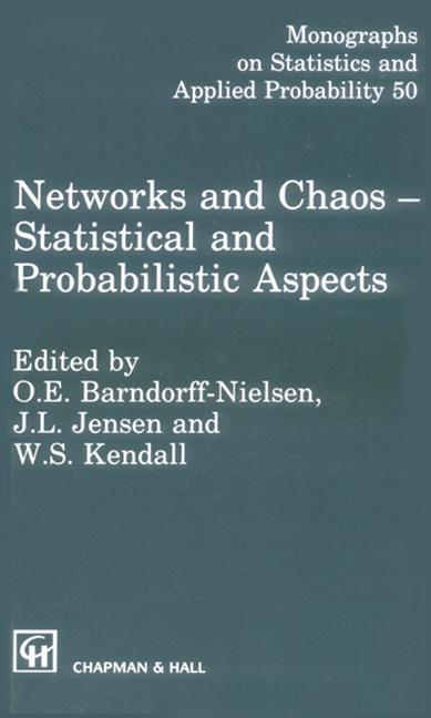Networks and Chaos - Statistical and Probabilistic Aspects: 1st Edition (Hardback) book cover