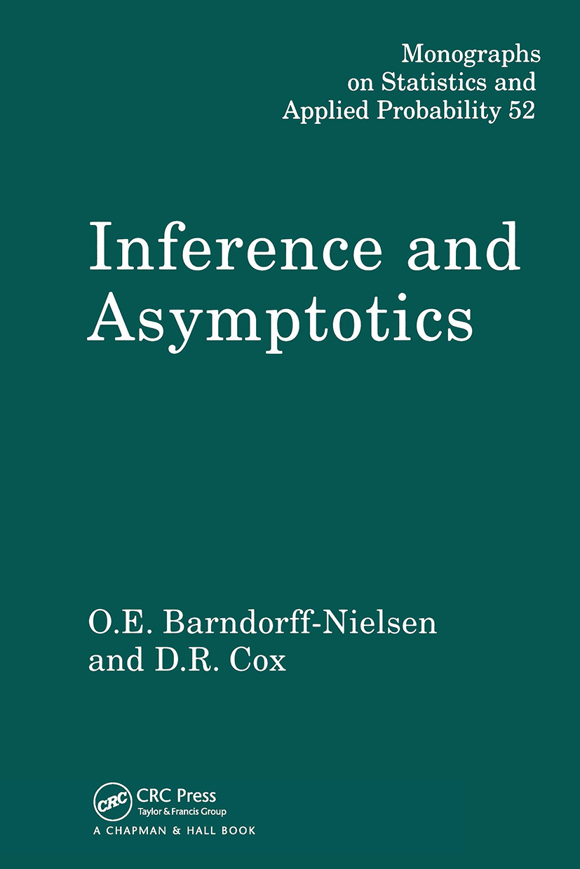 Inference and Asymptotics: 1st Edition (Hardback) book cover