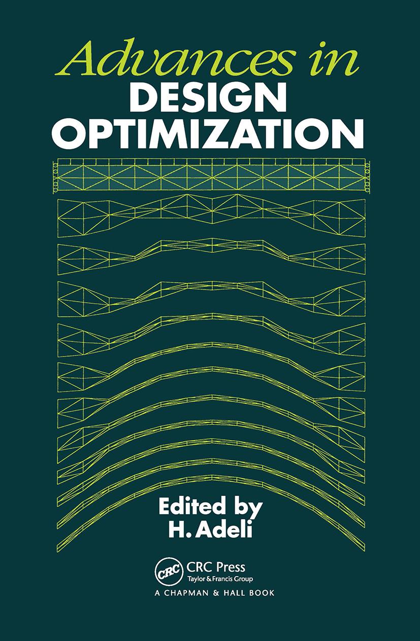 Advances in Design Optimization: 1st Edition (Hardback) book cover