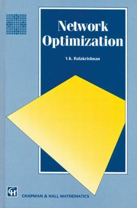 Network Optimization: 1st Edition (Hardback) book cover