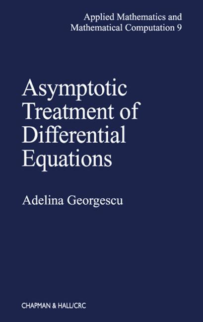 Asymptotic Treatment of Differential Equations book cover