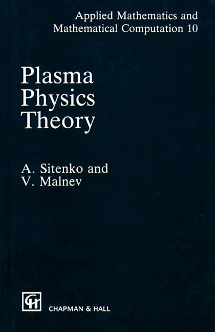 Plasma Physics Theory: 1st Edition (Hardback) book cover