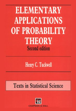 Elementary Applications of Probability Theory: 2nd Edition (Hardback) book cover
