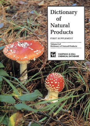 Dictionary of Natural Products, Supplement 1: 1st Edition (Hardback) book cover