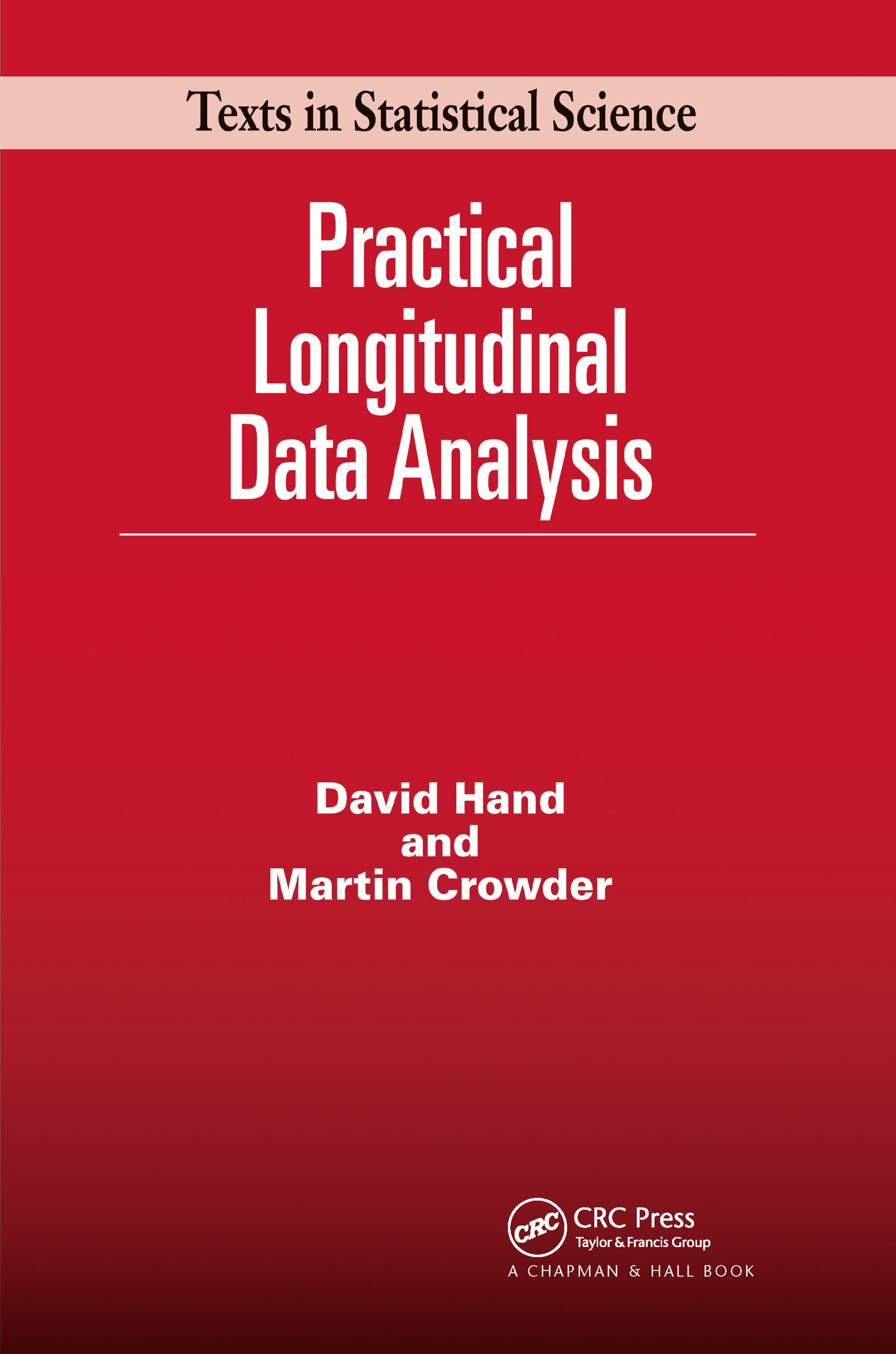 Practical Longitudinal Data Analysis (Hardback) book cover