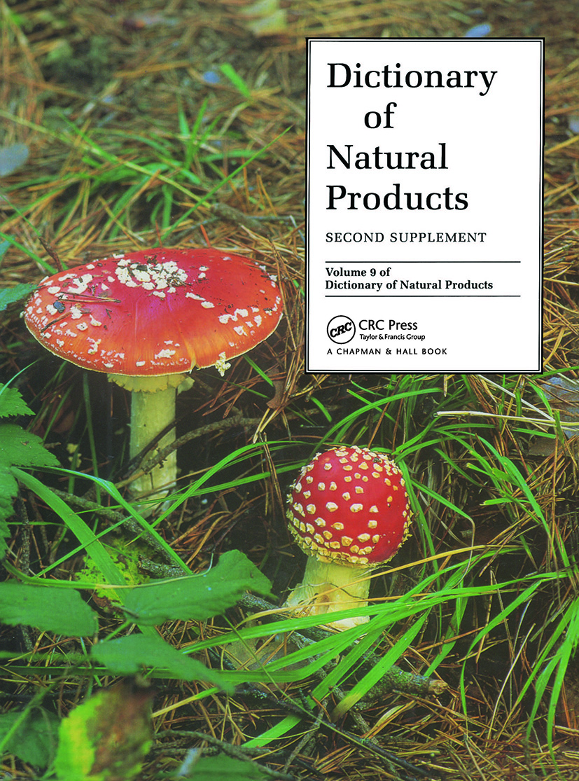 Dictionary of Natural Products, Supplement 2: 1st Edition (Hardback) book cover