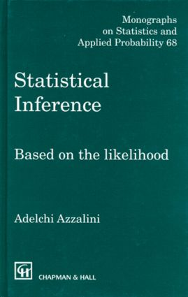 Statistical Inference Based on the likelihood: 1st Edition (e-Book) book cover