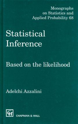 Statistical Inference Based on the likelihood (Hardback) book cover