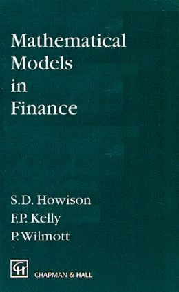 Mathematical Models in Finance: 1st Edition (Hardback) book cover