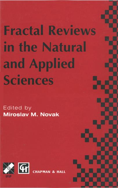 Fractal Reviews in the Natural and Applied Sciences: 1st Edition (Hardback) book cover