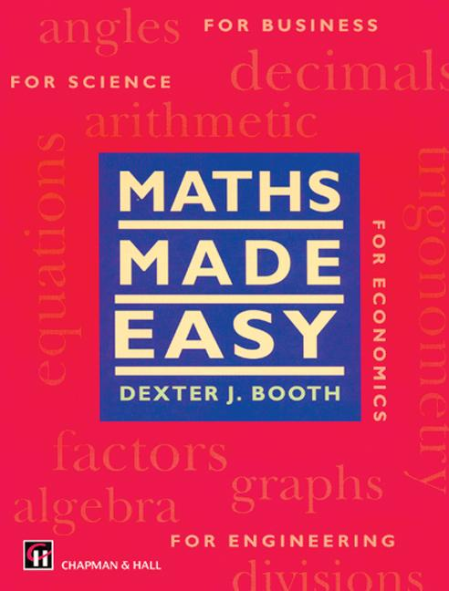 Maths Made Easy: 1st Edition (Hardback) book cover